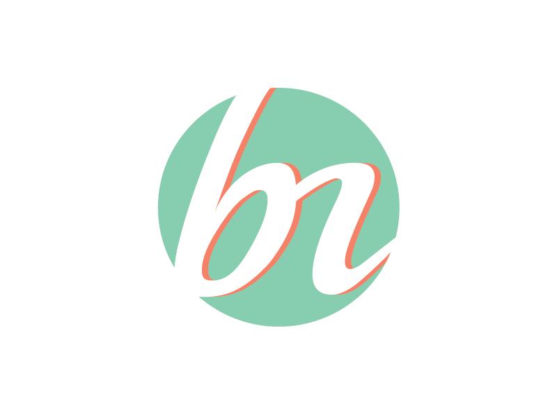 Personal logo logo typography branding personal promo mark b logotype portfolio abbreviation identity design