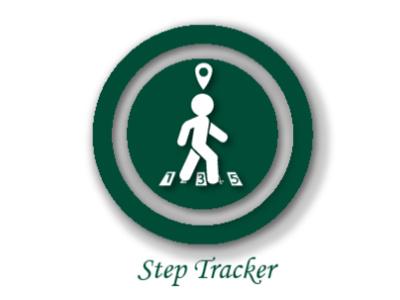 Step tracker app vector branding ui minimal design graphic design illustration logo dailyuichallenge
