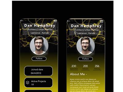 USER PAGE dailyuichallene branding minimal illustration graphic design design