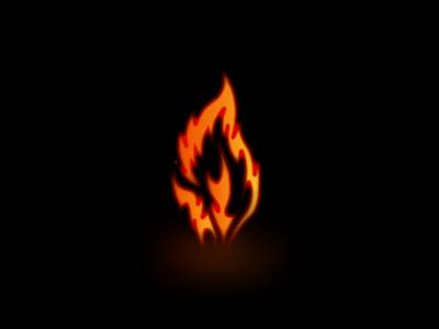 Flint & Flame vector dailylogochallenge logo branding minimal illustration graphic design design