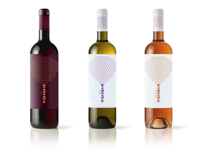 Orchestra wine label — Labels orchestra typography wine simple pattern label illustration identity concept codeberry