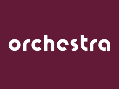 Orchestra wine label — Typography orchestra wine simple label typography identity concept codeberry