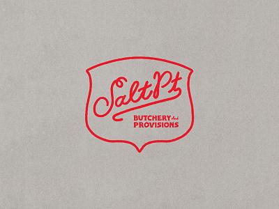 Salt Pt. Packaging Type branding graphic design type design letter lettering cursive california