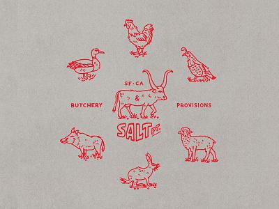 Wild Animals shirt design animals illustration graphic design type design letter lettering california