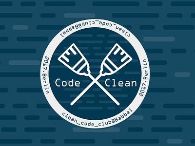 Clean Code Club /*Logo*/ club babbel codeclean logo