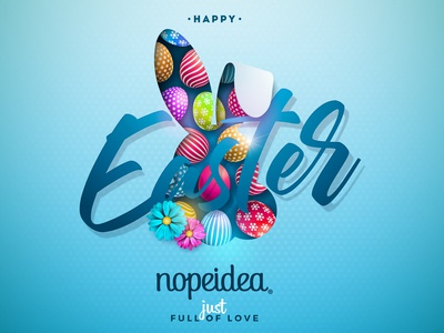 Happy Easter italy design graphic ui galasso daniele nopeidea pasqua buona easter happy