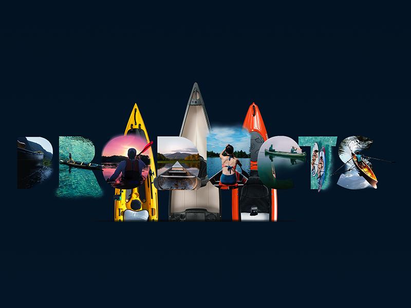 Ui/Ux - John's Kayak - Template - Header typography website concept website digital art logo design graphic kayak productions nopeidea template galasso daniele desktop ux ui mobile header promo portfolio site