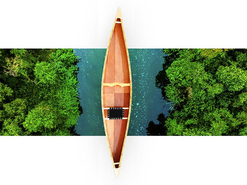 Cover Presentation - John's Kayak web design ui  ux ui promo presentation portfolio design graphic download digital nopeidea galasso daniele cover brand art