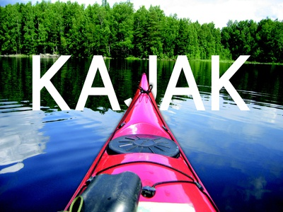 UI/UX Cover Portfolio Preview Product - John's Kayak - Home Page