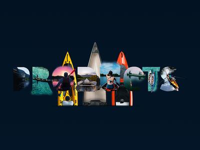 Ui/Ux - John's Kayak - Template - Header template design front end web template illustration ux ui typography behance portfolio digital logo galasso daniele art graphic brand design nopeidea