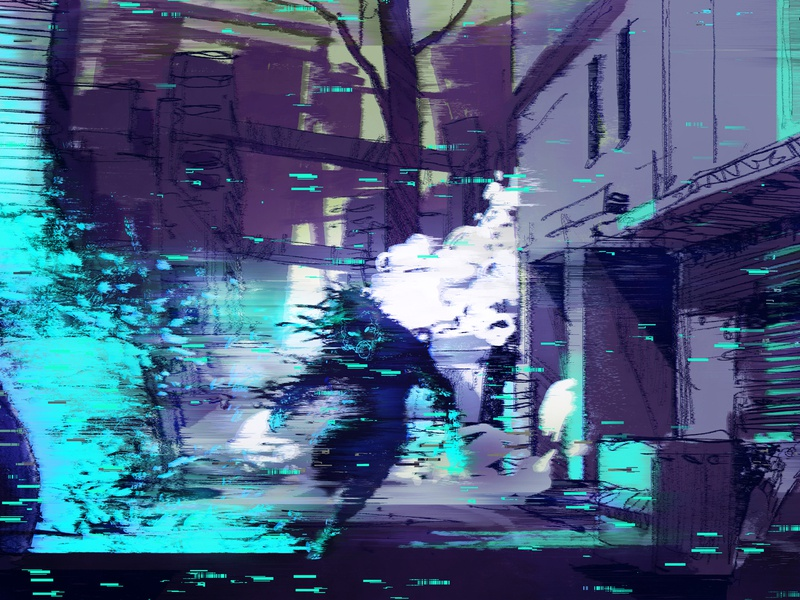 Digital Art Calendar 2020 by Nopeidea® - July graphic design cyberpunk brand behance project portfolio free download nopeidea galasso daniele calendar design calendar 2020 calendar behance art digital july 2020
