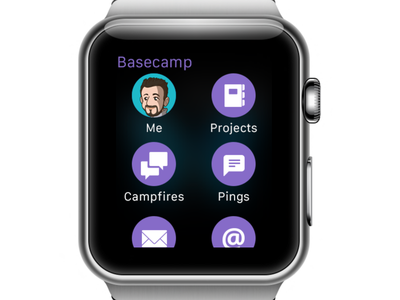 Basecamp Watchkit apple watch basecamp app