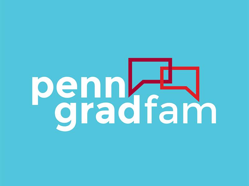 Penn Grad Fam Branding upenn education icon identity logo branding