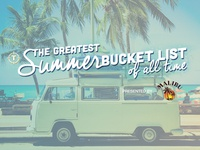 The Greatest Summer Bucket List of All Time