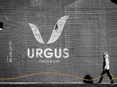 URGUS. fitness logo logo gym logo gym exercise brand identity design visual identity modern brand identity branding