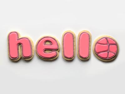 Hello, dribbble! design photography typography