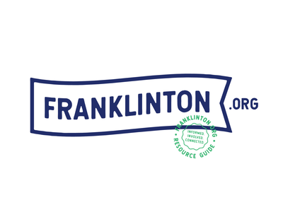 Franklinton.org mark icon symbol mark brand vector typography graphic icon design branding and identity logo branding