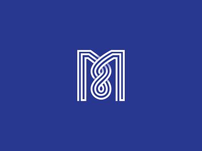 M'finite Mondays... m logos logo design typography mark icon symbol vector brand design branding icon graphic logo insignia mark