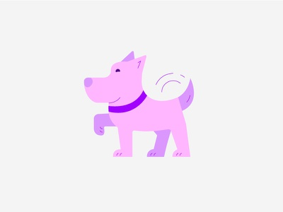 Woof woof puppy design illustration dog