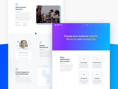 Ads Page clean ad desktop web prototype mockup wireframe interaction product design product ux ui