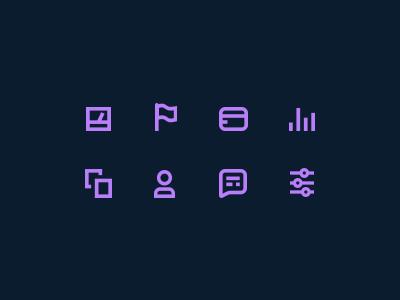 Icons line logo symbol iconography product design ux ui web flat icons