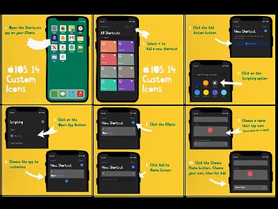 iOS 14 Handcut Icons handmade cutout style icon set icons iphone icon icon design ios14 ios icon