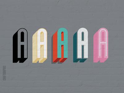 drop shadow SVG font idea illustration design typography fonts typeface font design font