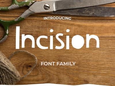Incision Font Pack