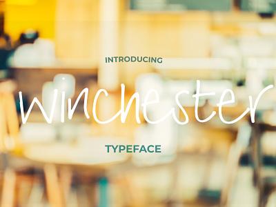 Winchester Font Pack brush fonts branding vector hand drawn handwriting font typography logo fonts font font design typeface