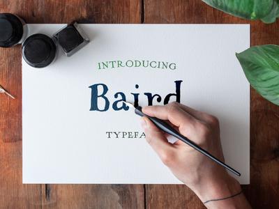 Baird Font Pack