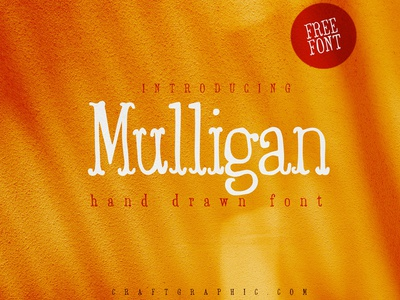 Mulligan Sketch font