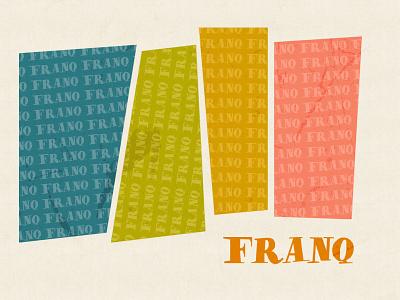 Franq Retro Font free free font freebie typography typeface font design font