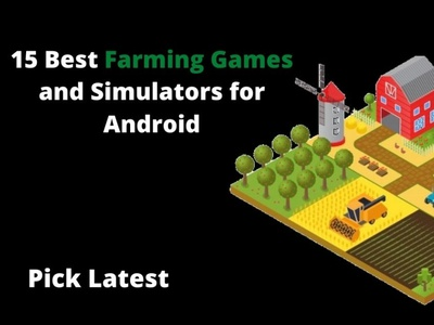 15 best farmin games and simulators for android typography web design app