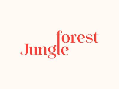 forest jungle web design typography logo designer professional logo logotype logo design modern logo mark illustraion logo business branding flat forest jungle jungle forest animals forestry forest logo forests forest