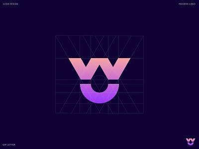 CW Drop logo design branding agency brand style brand identity ui modern illustraion branding graphic designer graphic design logo designer logo design logos logo drop drops drop logo wc logo cw logo w logo c logo