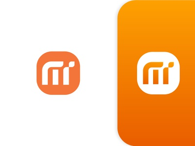 MI Redesign animation 3d graphic design web design logotype ui illustration design logo mark illustraion business branding minimalit modern logo design logo redesign mi redesign mi logo mi