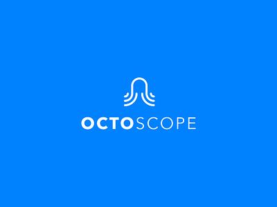 Octoscope Logo - Draft research octopod tentacle octopus octo illustration logo