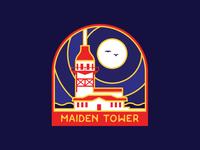 Lapel Pin Design - Maiden Tower