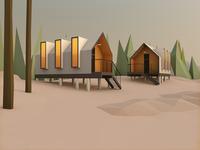 Summer cabins