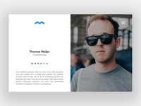 DailyUI #006 User Profile