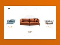 E-commerce for sofas