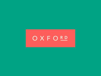 Oxford Road Logotype