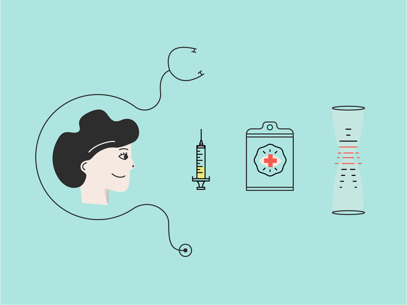 Illustrations For Cross Healthcare