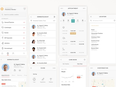 Care Provider_Cross Healthcare information technology ux clinic care app healthcare cross patient doctor medical roundglass health