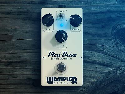 Wampler Pedals pedal effect wampler guitar photoshop first shot