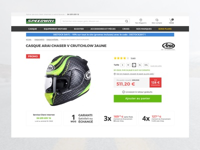 Motorbike e-commerce flat helmet shop motorbike color ecommerce white dayli ui moto
