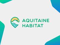 Aquitaine Habitat - Logo