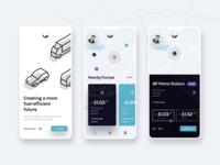 Fuel Station Companion App UI