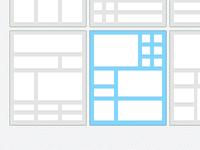 layout selector
