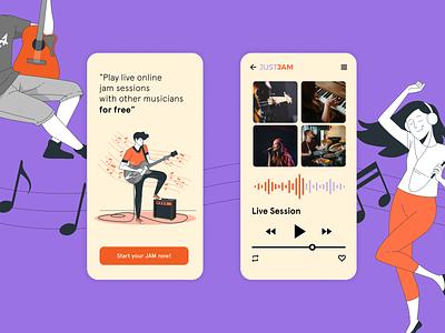 DailyUI 009 Music player app ui design dailyuichallenge dailyui music app music player music